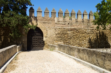 forefront: forefront of the ancient city walls of Cordoba, Andalucia, Spain.