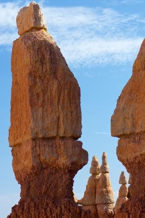 desert ecosystem: Needles in Bryce Canyon National Park, Utah, Usa