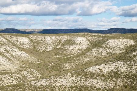 arid: Arid landscape in Zaragoza Province, Aragon, Spain.