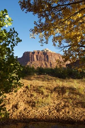 indian creek: Hills in Indian Creek, near Canyonlands, Utah, USA.