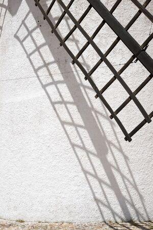 castilla la mancha: Windmill in Alcazar de San Juan, Ciudad Real Province, Castilla La Mancha, Spain.