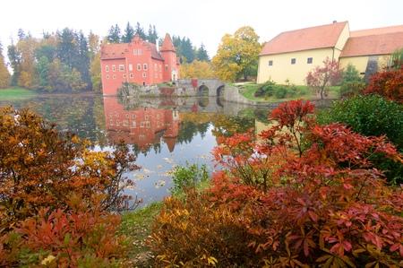 Cervena Lhota Castle in Czech Republic. Editorial