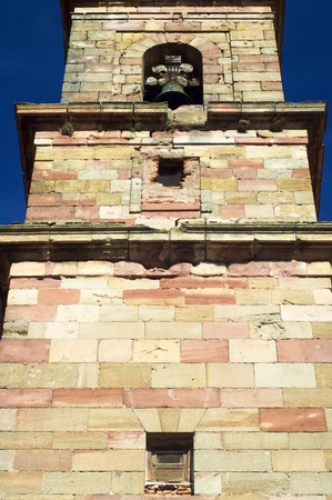 castilla la mancha: Santa Maria Church in Siguenza, Castilla La Mancha, Spain. Stock Photo