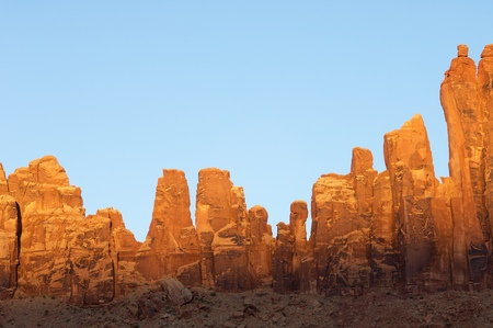 bridger: hHll called Jack Bridger in Indian Creek, near Canyonlands, Utah, USA. Stock Photo