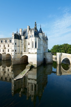 katherine: Chenonceau Castle, Loire Valley, France. Known as the castle of the ladies was built in 1513 by Katherine Briconnet.