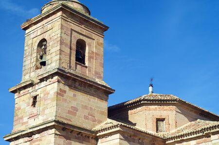 Santa Maria Church in Siguenza, Castilla La Mancha, Spain. Stock Photo
