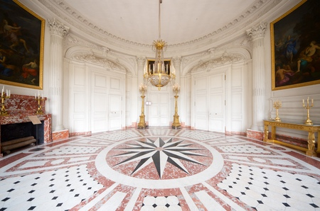 magnificence: Grand Trianon in Palace  Versailles, France.
