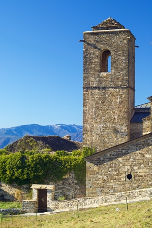 Monastery of San Victorian, Pyrenees, Huesca, Spain.