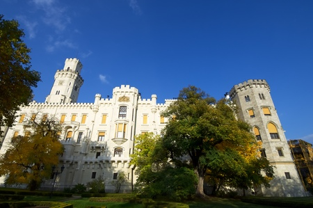 neogothic: castle neogothic Hluboka nad Vltavou. Built in the thirteenth century and has undergone several renovations until now look like it is one of the most visited castles in the Czech Republic. Czech Republic