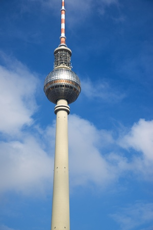 TV tower in Berlin, Germany. Standard-Bild - 124235335