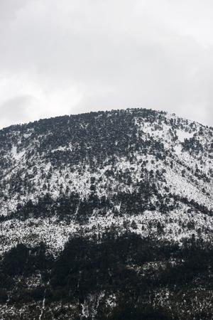 Winter in Guara Mountains, Aragon, Huesca, Spain. Standard-Bild - 124235351