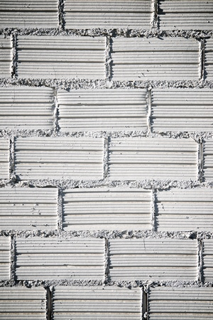 Background created with a white brick wall. Standard-Bild - 124235453