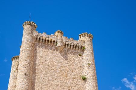 Torija castle in Castilla La Mancha, Guadalajara Province in Spain. Standard-Bild - 124248440