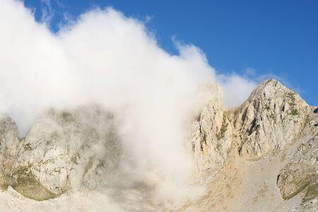 Peaks in Oza Valley, Pyrenees, Spain.