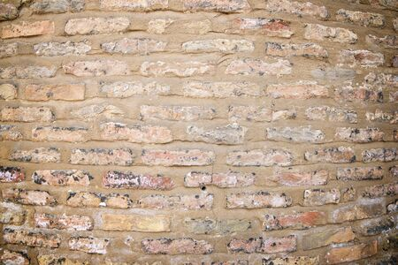 Brick wall background at high resolution in Spain.