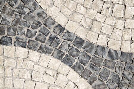 Background created by a tiled floor, Lisbon, Portugal. Stock fotó - 126052390