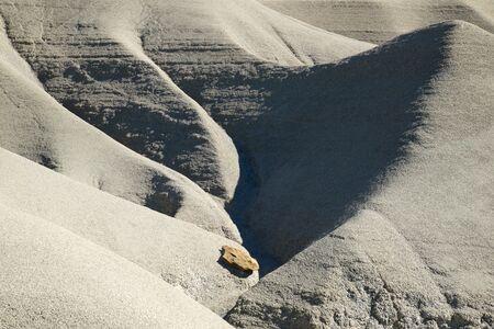 Loam landscape view in Spain. 免版税图像