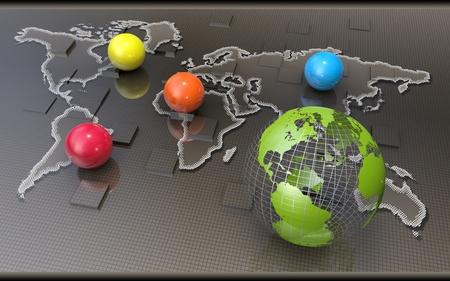international monitoring: Global business network