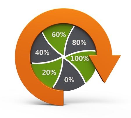 Business process chart  Stock fotó