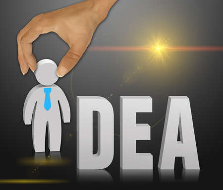 masterly: Idea cocept word as a background Stock Photo