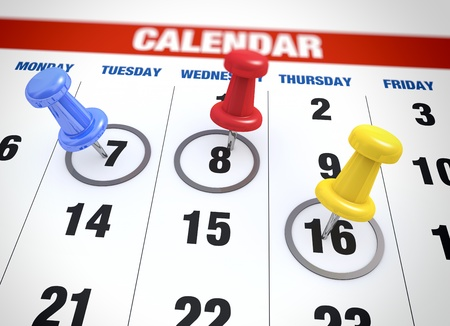 upcoming: Planning calendar as a concept