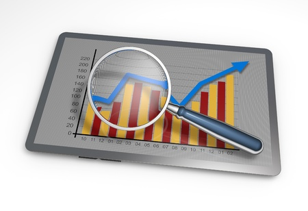business review: Analysis of business graphs with a magnifying glass