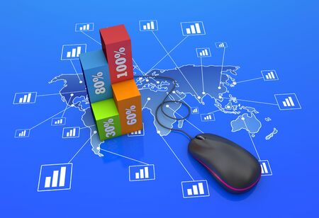 The global economy with charts photo