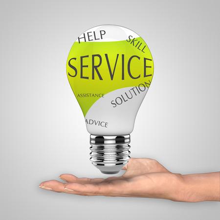 complaining: Light bulb service as a concept