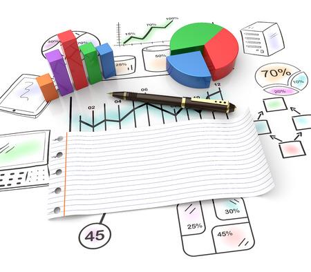Stratégie et gestion en tant que concept Banque d'images - 27167352