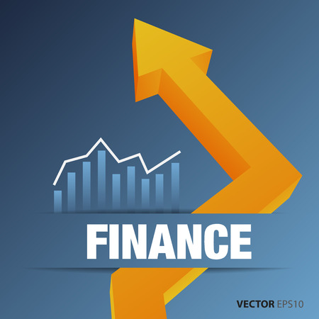 contabilidad financiera cuentas: Cuadro financiero y de negocios y gráficos