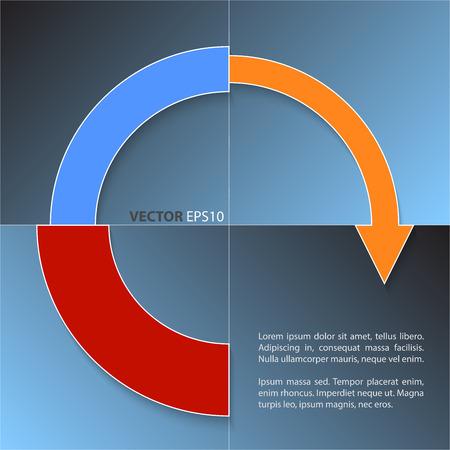 economic development: Financial business chart and economic development