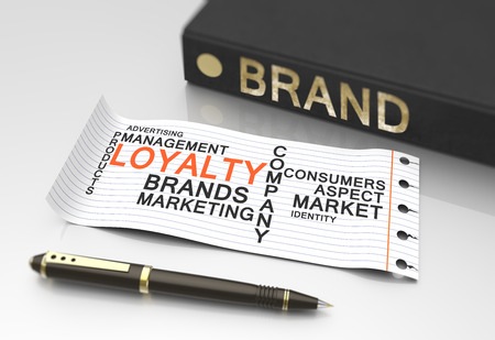 Brand loyalty as a business concept photo