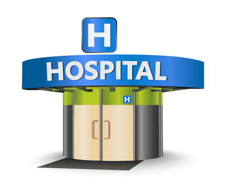emergency response: Hospital building as a concept symbol