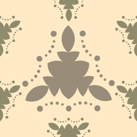 point: Vintage seamless pattern style as concept