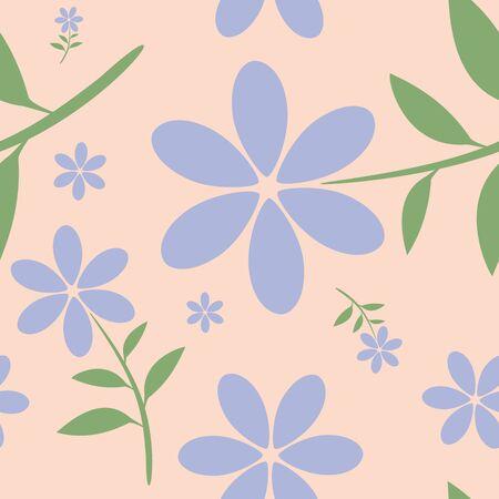 petites fleurs: notion Seamless floral pattern