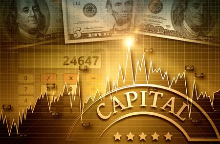 유행: 금융 및 비즈니스 차트 및 그래프