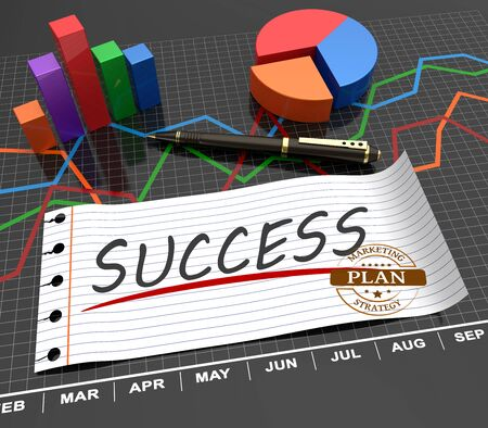 goal achievement: Successful plan with the analysis as a concept