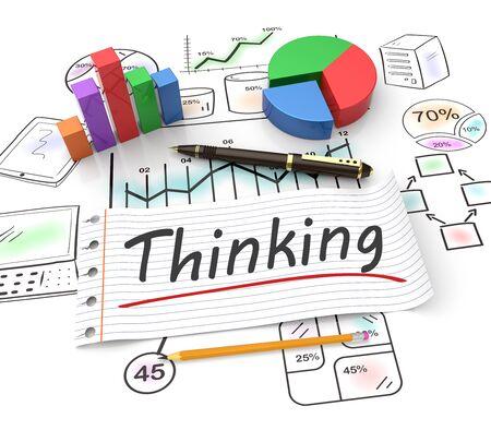 inteligencia: La creatividad y el pensamiento como un concepto