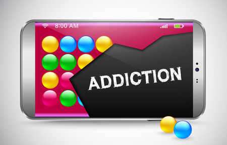 gaming: Smart phone and warnings on addiction to gaming