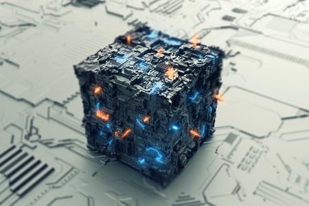 Energie der Zukunft im Würfel