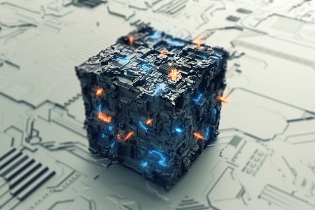 Energy of the future in cube