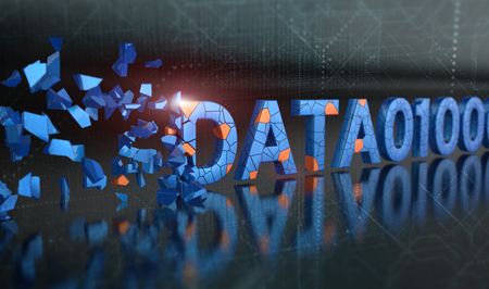 Digital data loss prevention and security background