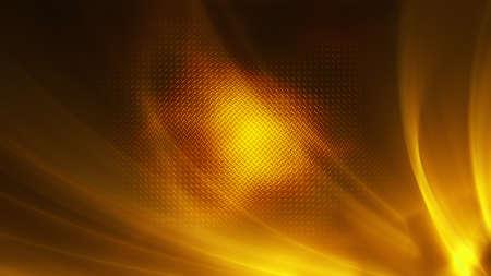 Golden aura lights, metallic gold christmas background