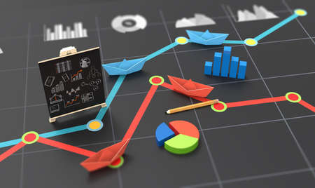 Financial analysis and business competitiveness in charts