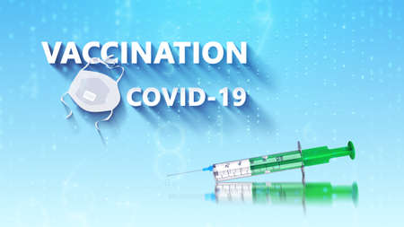 Vaccine and syringe to prevent, immunize and treat COVID-19