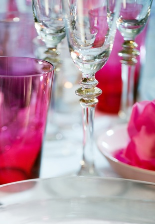 Cup set, for party night, extreme clouse-up