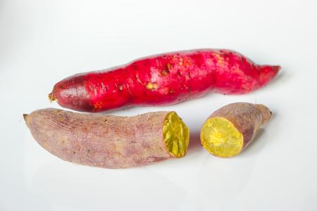 tuberous: Sweet potato