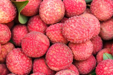 Lychee  are the thai tropical fruit. it taste sweet and sour Stock Photo - 14299765