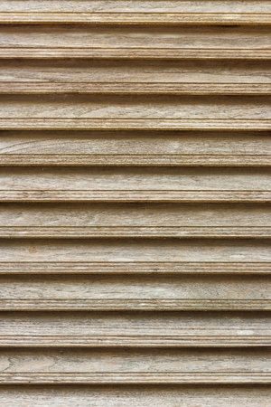 Wooden shutter use for texture and background Stock Photo