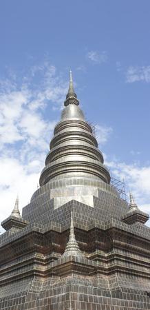 Pagoda in Chiang Mai, Thailand. photo